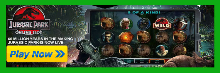 Play Jurassic Park pokies with a special bonus here