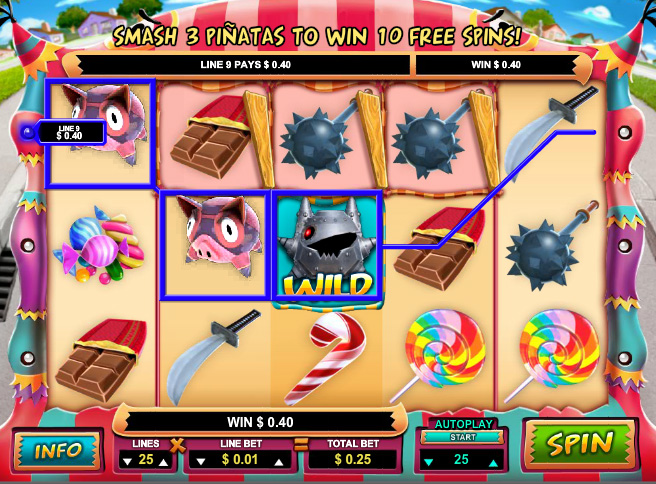 Mad Piñatas Online Pokies Game Guide