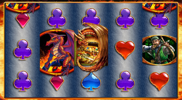 Play the Free Dragons Inferno WMS Williams Pokies Game