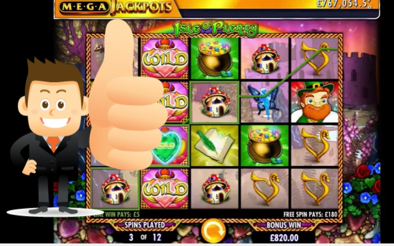 Isle O'Plenty IGT Slot Machine Review