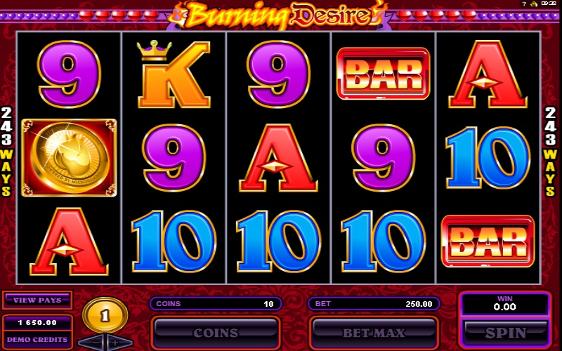 More Hearts Free Pokies Option Burning Desire Slot