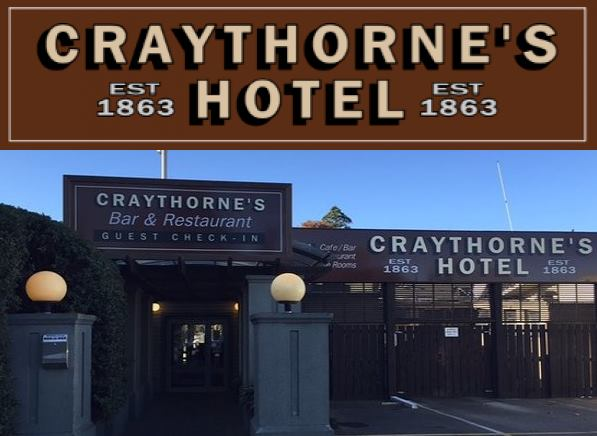 Craythorne's Public House Hotel Halswell Guide & Review
