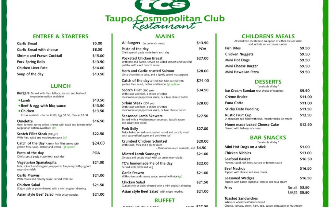 Taupo Cossie Club Review & Guide