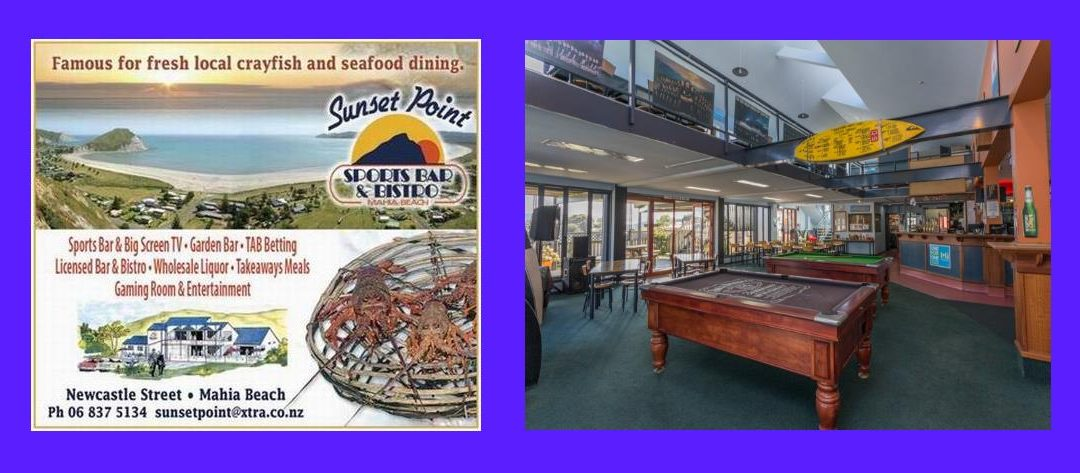 Sunset Point Sports Bar & Bistro Mahia Review