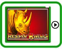 Respin Rhino free mobile pokies