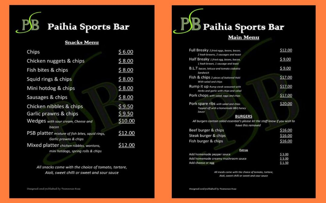 Paihia Sports Bar Review