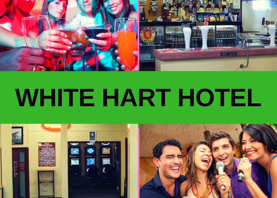 White Hart Hotel a Sports Bar in Hawera Review