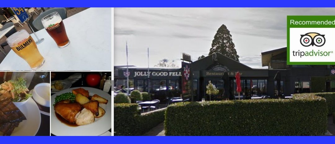 Jolly Good Fellows Restaurant & Bar Taupo Review