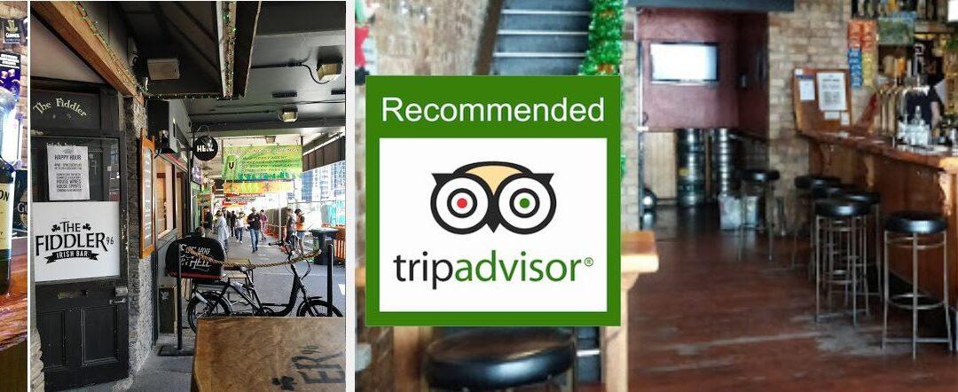 The Fiddler Irish Bar Auckland Review