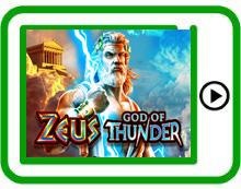 Zeus God of Thunder WMS free mobile pokies