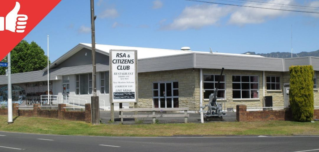 Katikati RSA and Citizens Club Guide