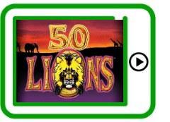 50 Lions free pokies